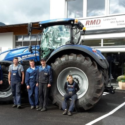 New Holland RMD Mechaniker